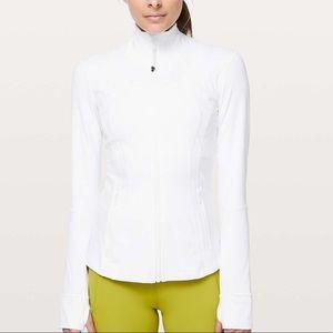 Lululemon Define Jacket in White Nulux